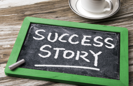 A success story in leading change